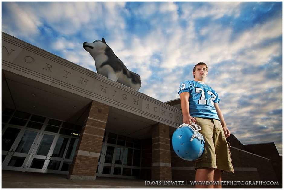Gage - North Huskies Football Player