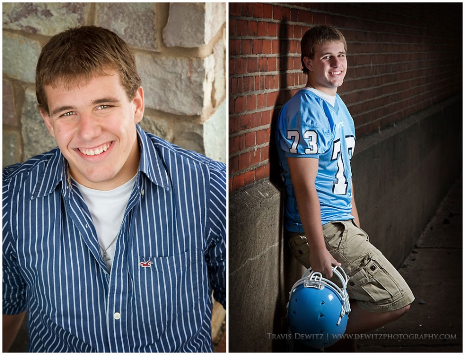 Gage - North High School Senior Pictures - Banbury Place and Phoenix Park