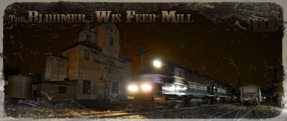 Eds Feed Service Feed Mill Bloomer Wisconsin Photograph