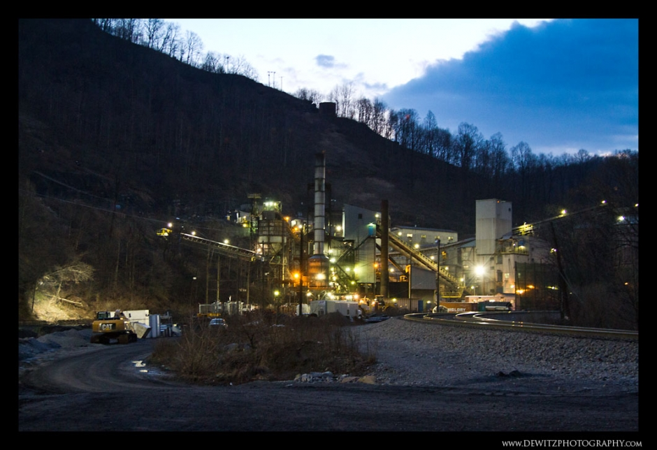 Bluestone Coal Mine in Keystone West Virginia Photograph