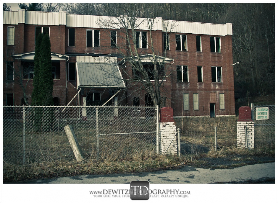 Abandoned Switchback WV School Photograph