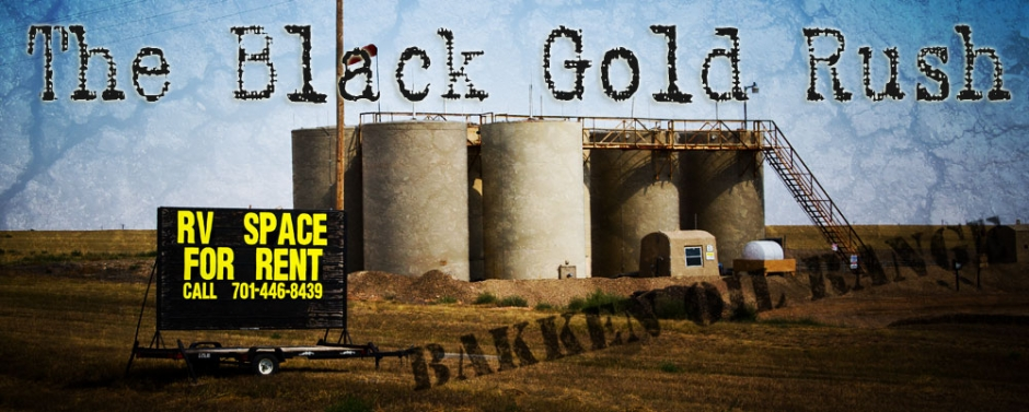 The Black Gold Rush in the Bakken Oil Range Photograph