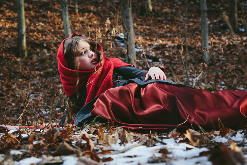 Red Riding Hood Fell Down