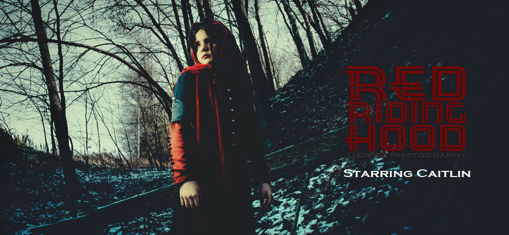 Red Riding Hood Photography Series