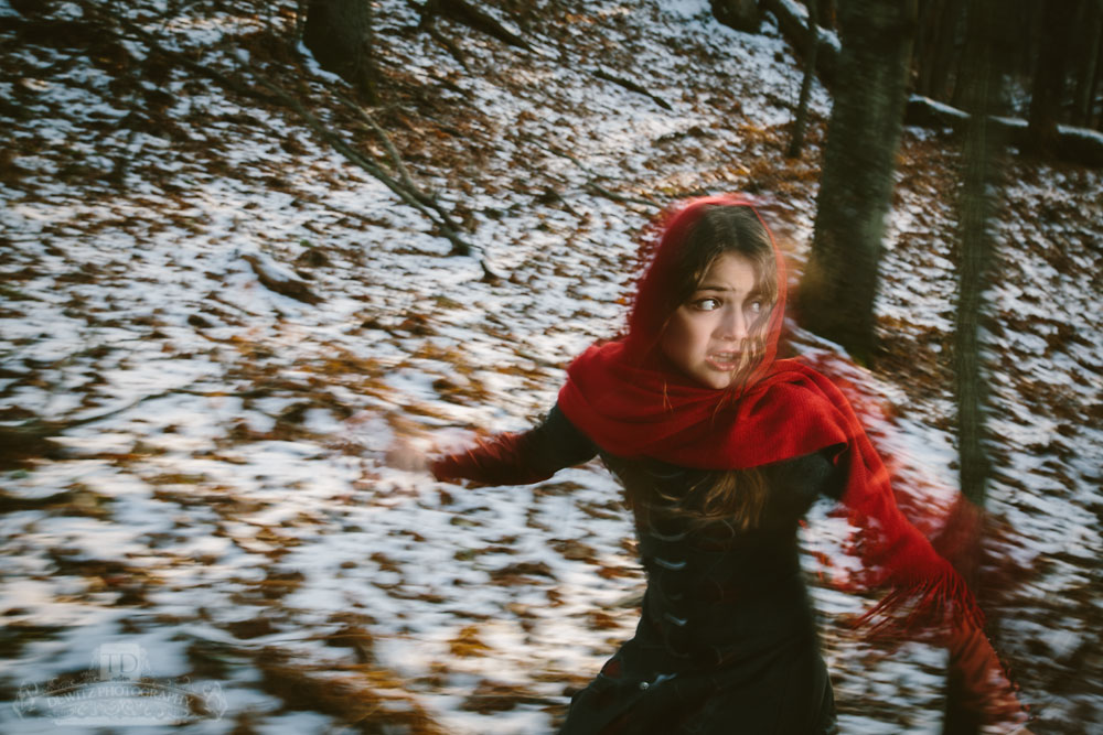 Red Riding Hood in a Panic