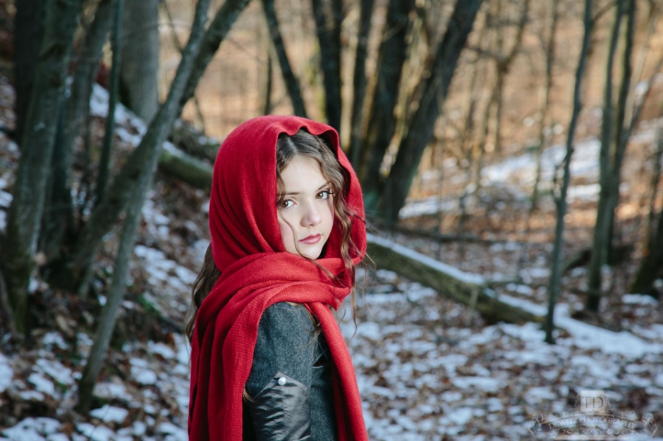 Red Riding Hood in the Woods