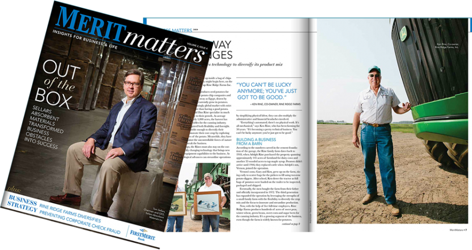 Meritmatters Editorial Corporate Magazine Shoot