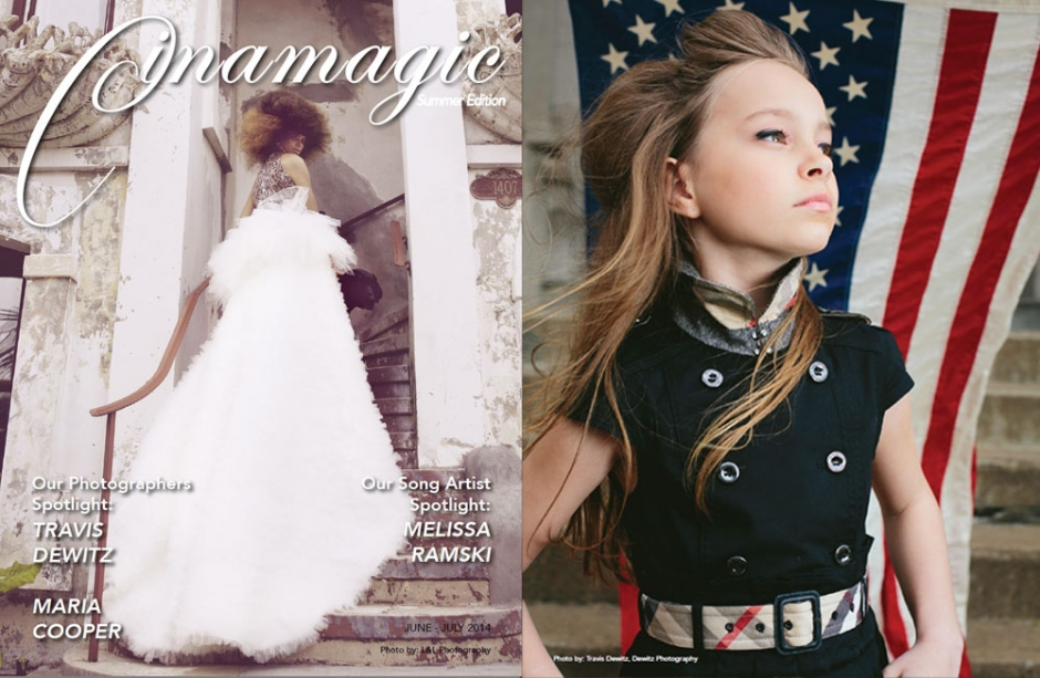 Cinamagic Front Cover Feature Story and Back Cover Image