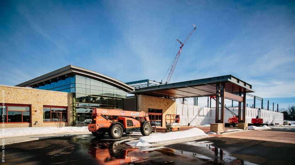 Sauk Prairie Hospital Construction Exterior