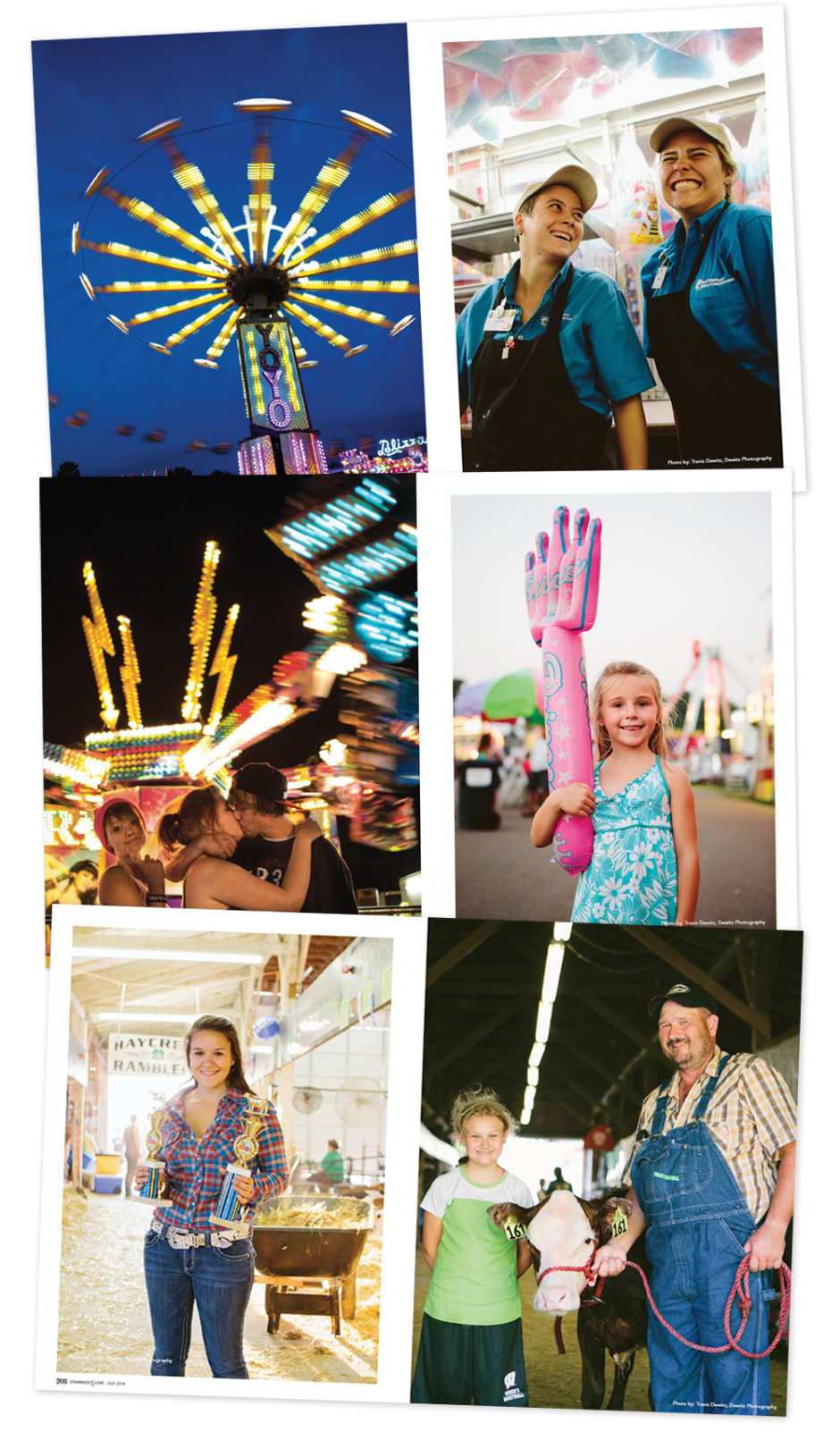 Cinamagic Magazine State Fair Editorial Pages