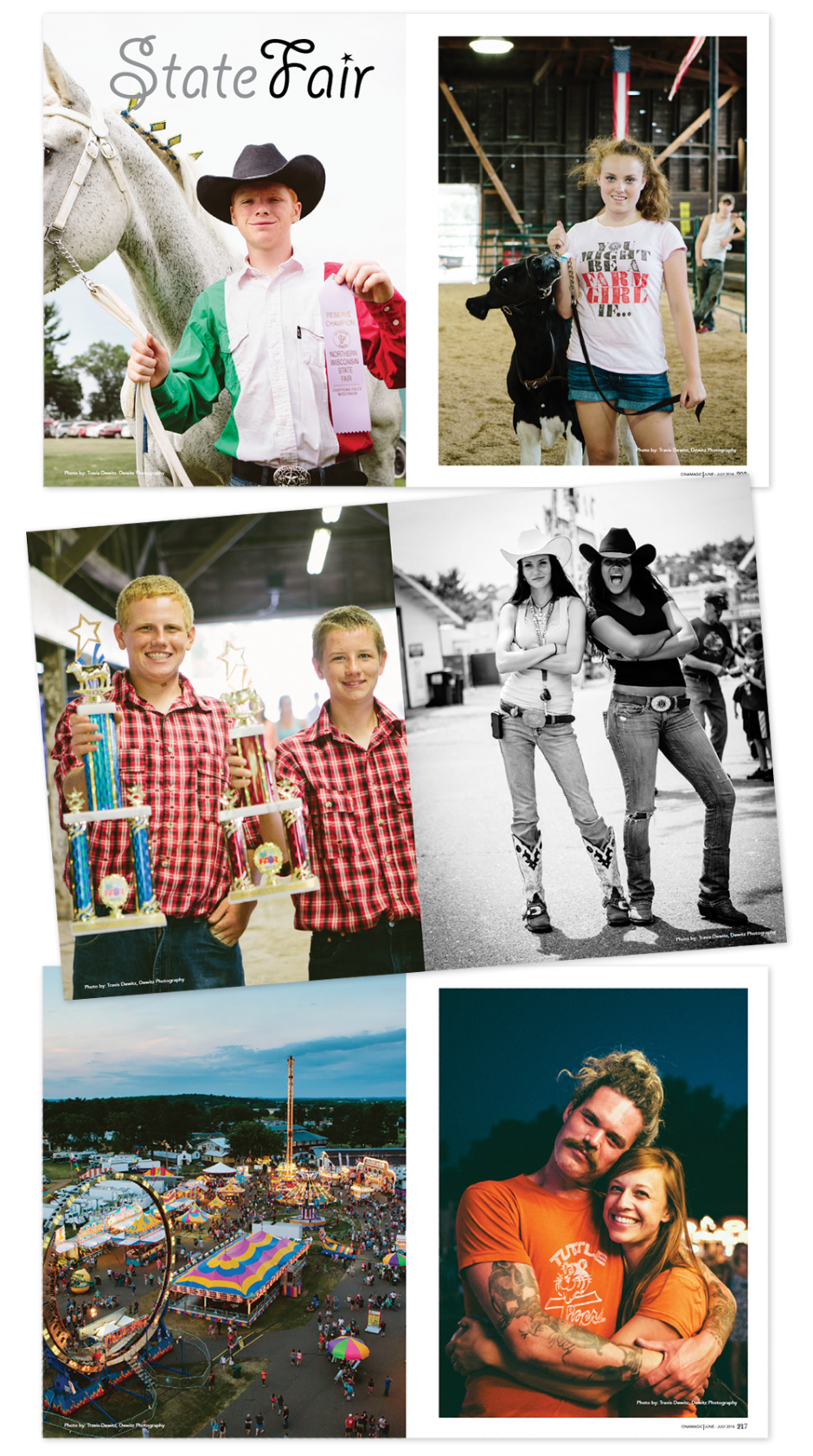 Cinamagic Magazine State Fair Photo Spread