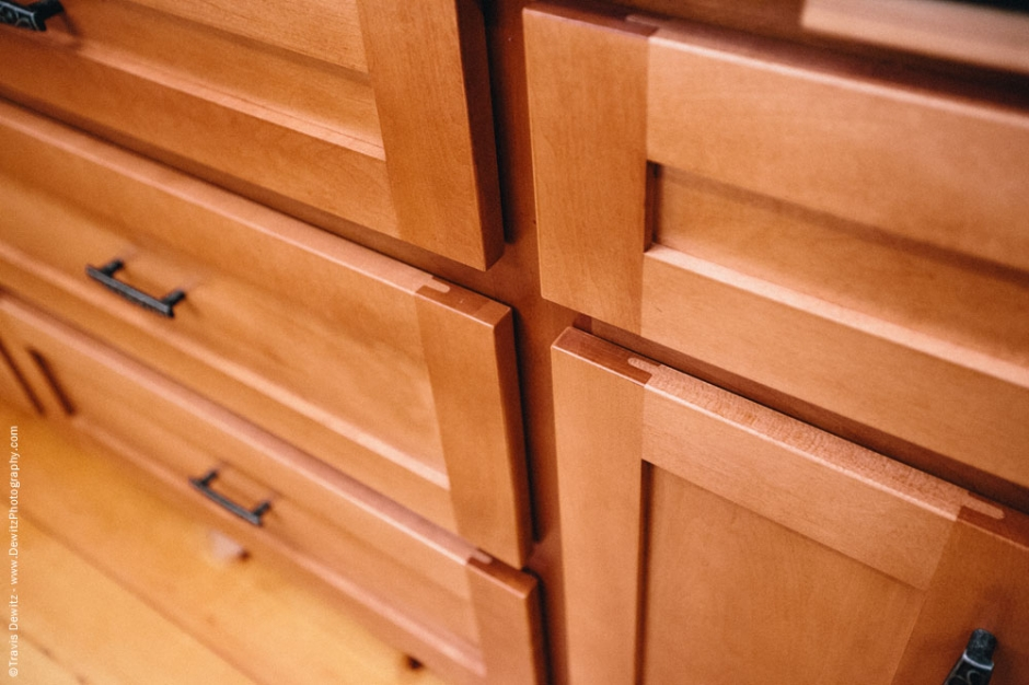 Dovetail Designs - Custom Kitchen Cabinets Drawer Detail