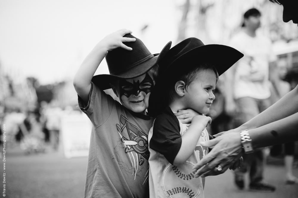 Northern Wisconsin State Fair Bat Boy Trying to Help Brother