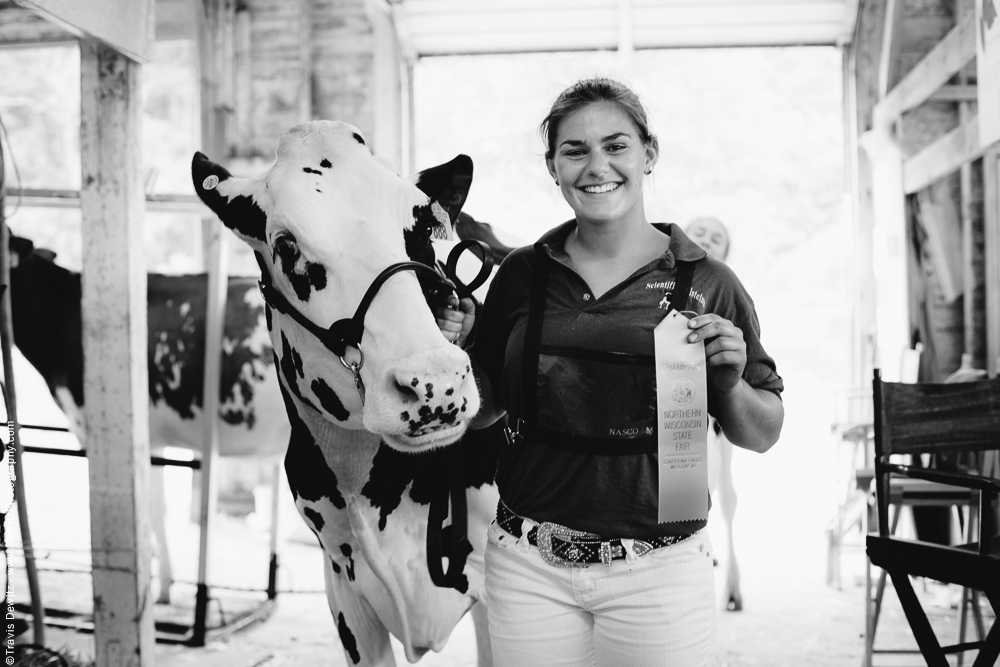 Northern Wisconsin State Fair Champion Cow