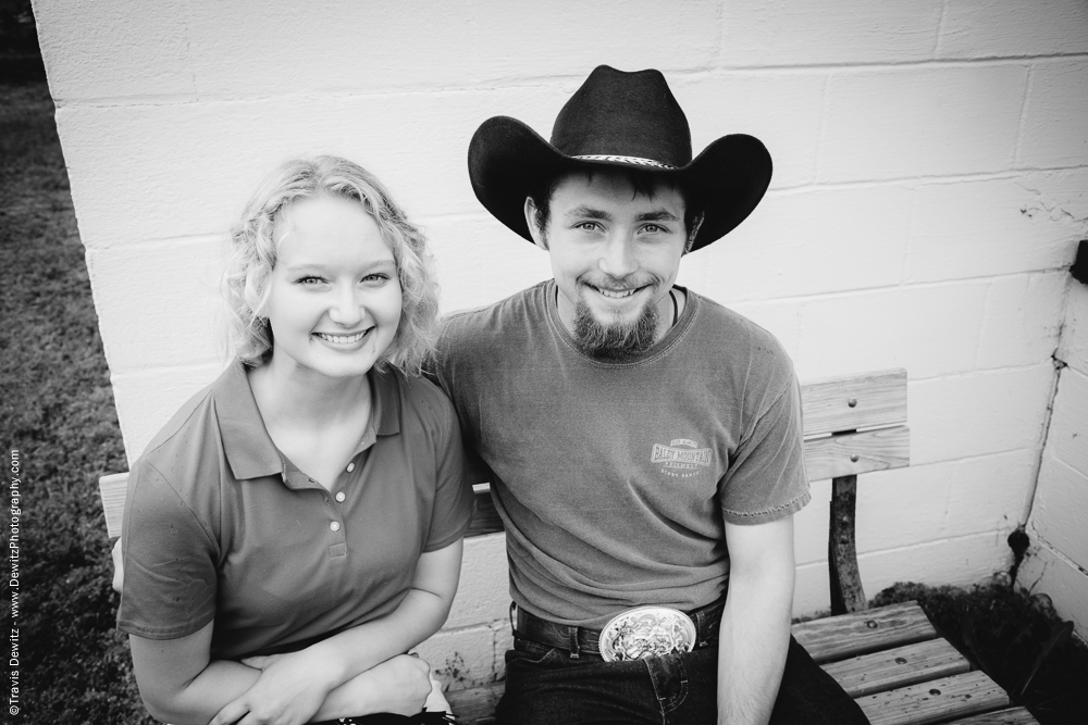 Northern Wisconsin State Fair Couple With Cowboy Hat