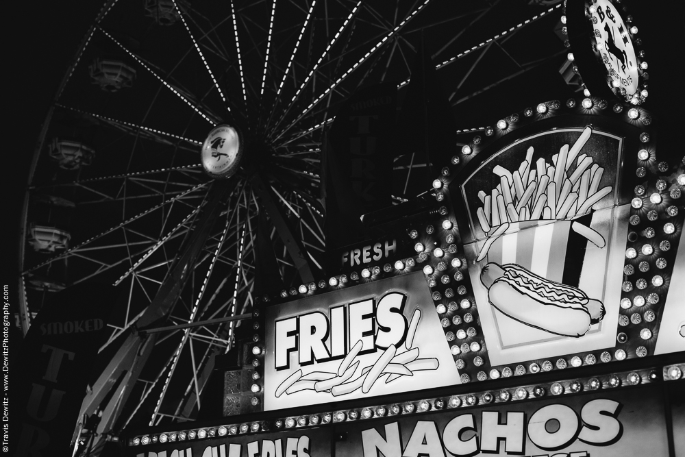 Northern Wisconsin State Fair Fries Food Stand