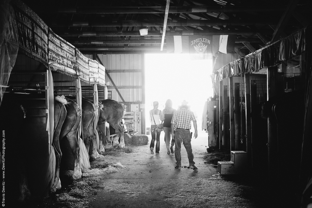 Northern Wisconsin State Fair Horse Stables