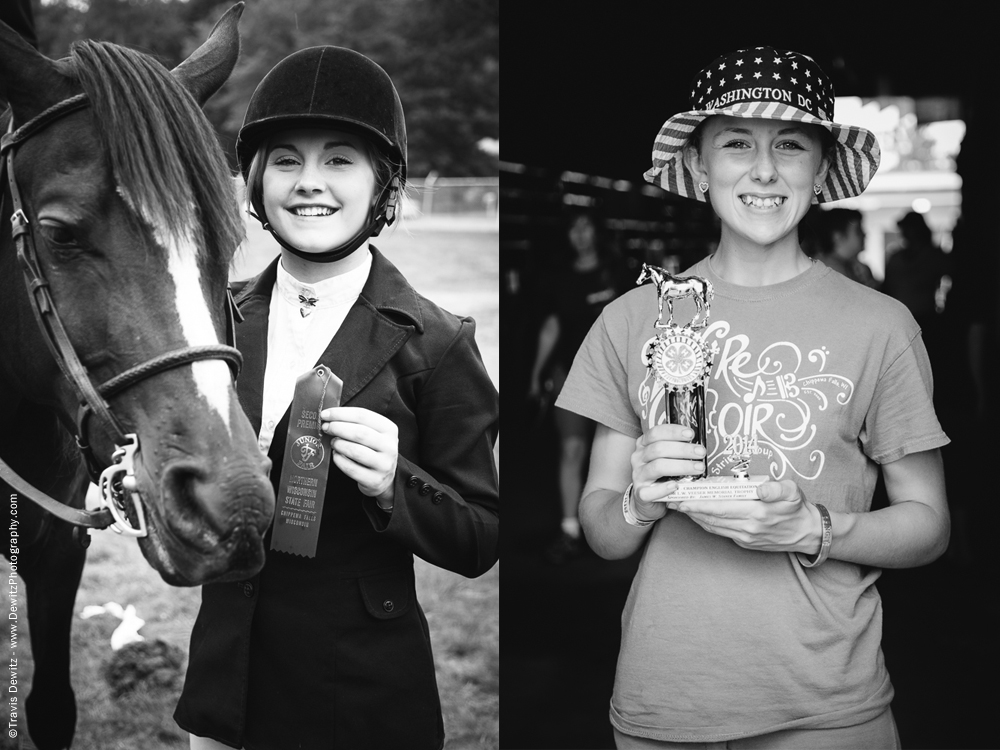 Northern Wisconsin State Fair Horse Winners