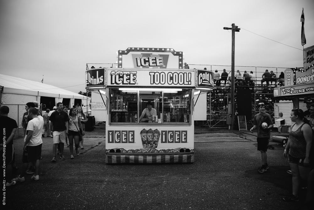Northern Wisconsin State Fair Icee Stand
