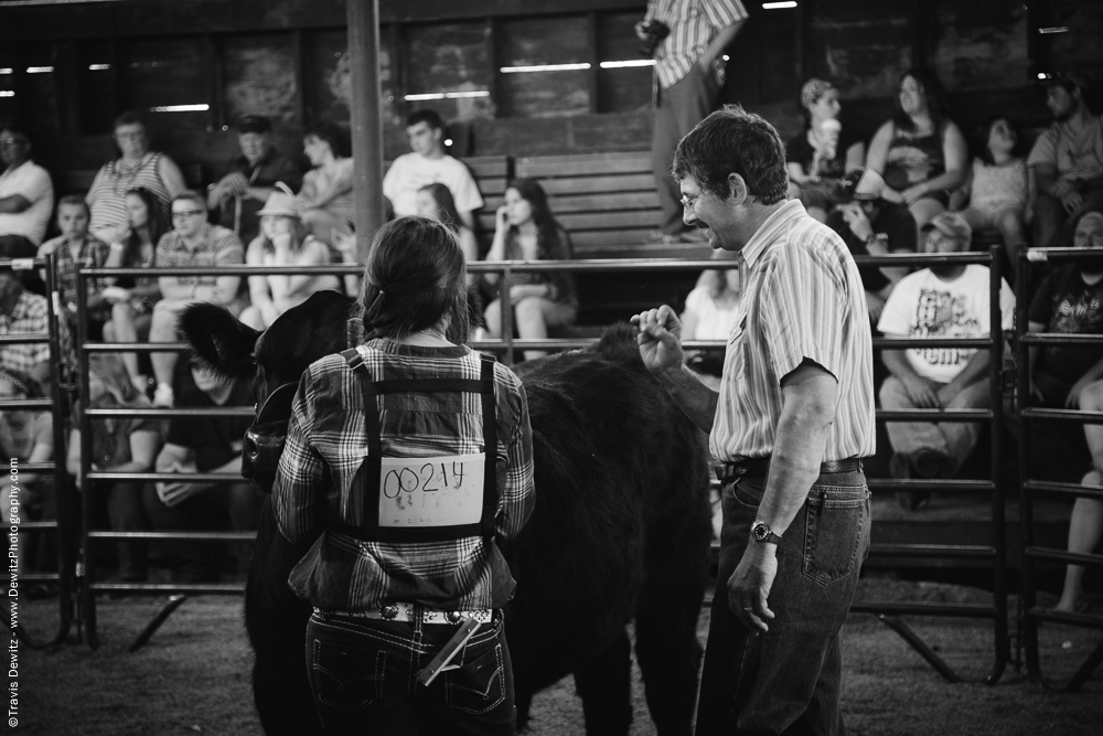 Northern Wisconsin State Fair Judge in Arena