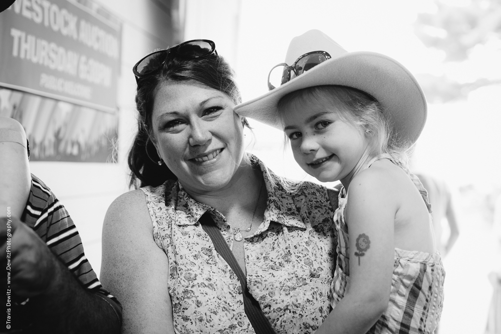 Northern Wisconsin State Fair Mother Daughter Portrait