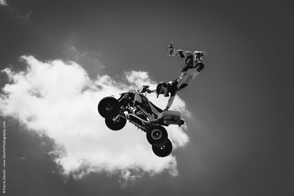 Northern Wisconsin State Fair Motorcross Show Flying High