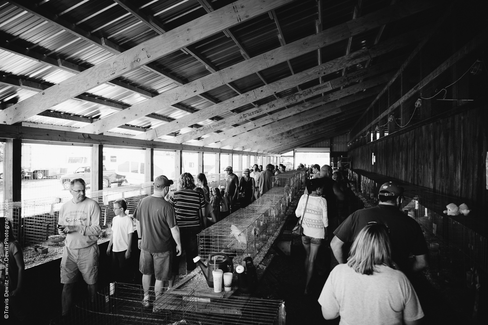 Northern Wisconsin State Fair Poultry Barn