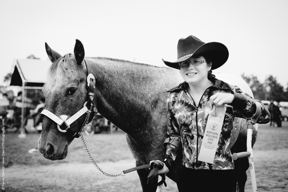 Northern Wisconsin State Fair Reserve Champion Horse