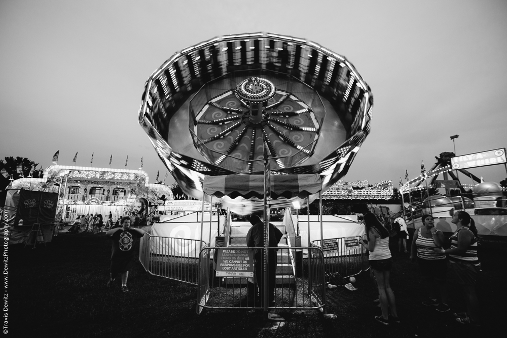 Northern Wisconsin State Fair Ride Spinning