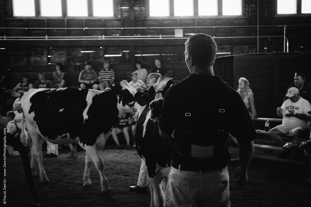 Northern Wisconsin State Fair Teen Showing Cattle