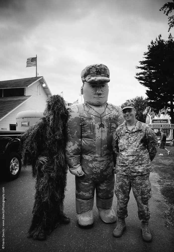 Northern Wisconsin State Fair US Army Soldiers