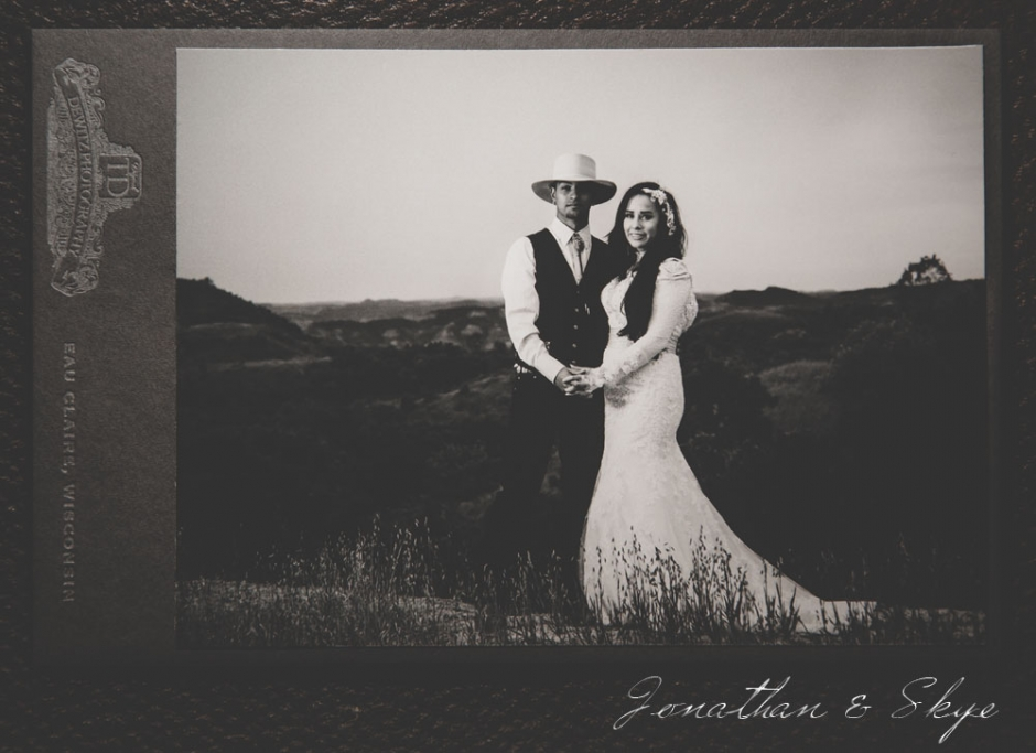 Jonathan and Skye Wedding  Cabinet Card