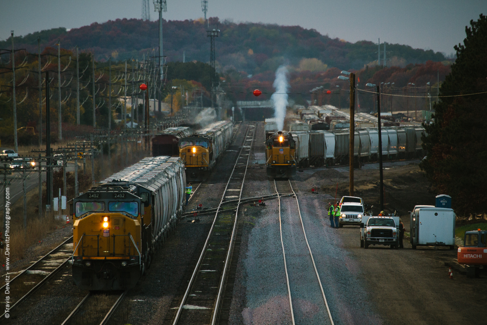 Rail Yard Over Capacity - Altoona, WI