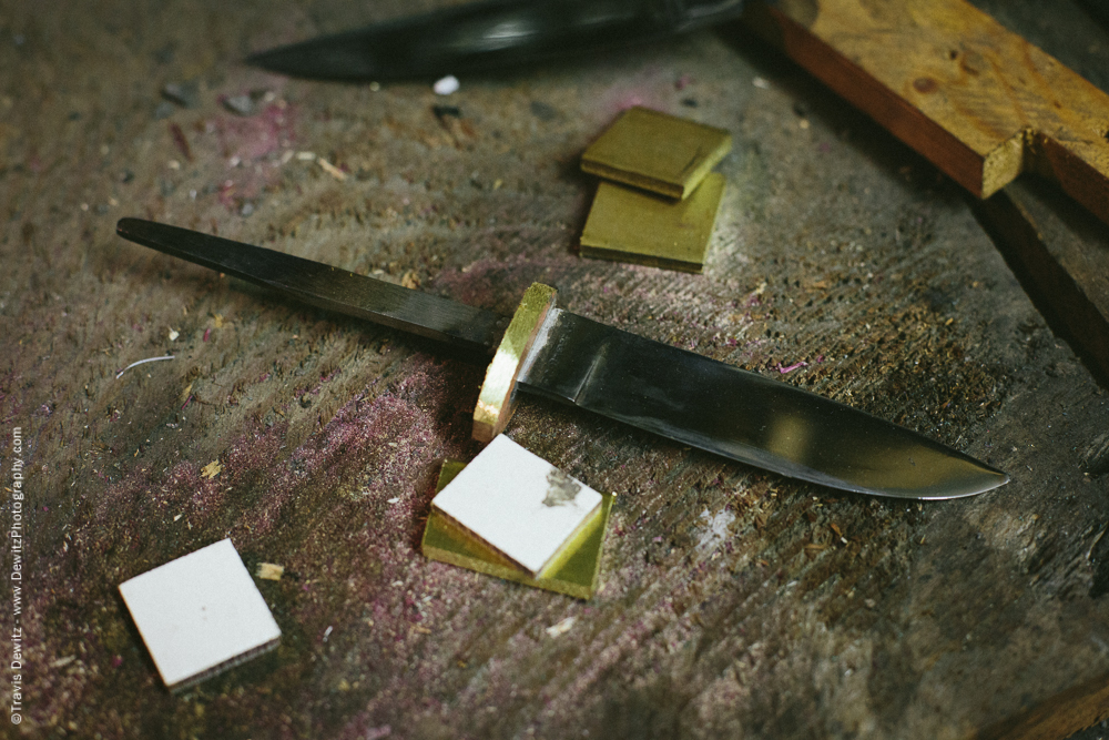 Knife Blank and Handle Pieces