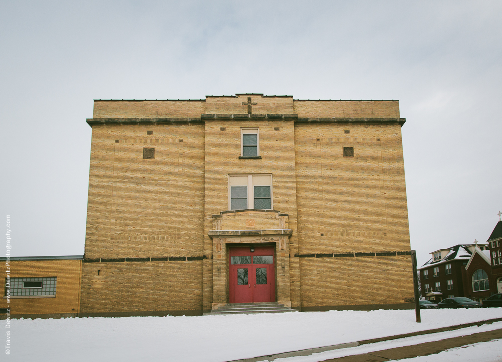Chippewa Falls- Notre Dame Historic Building