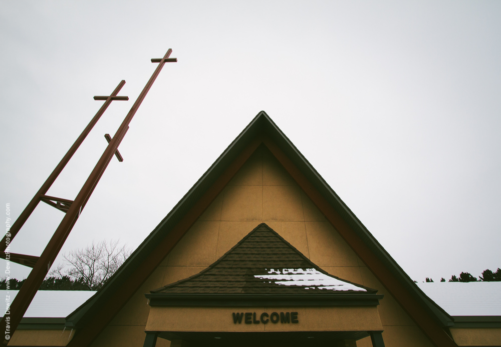 Chippewa Falls- Our Saviours Luthern Church Crosses