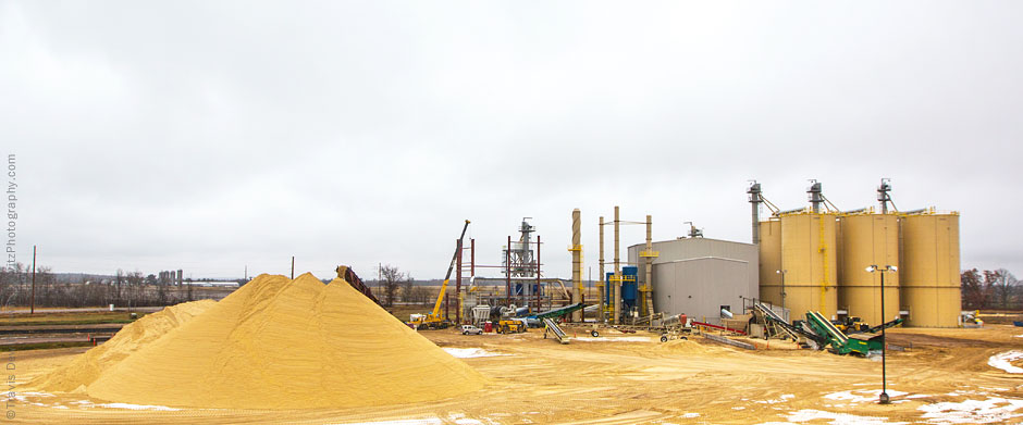 Chieftan Sands Processing Facility