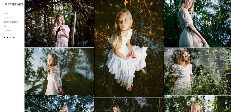 New Alice in Wonderland Photography Website