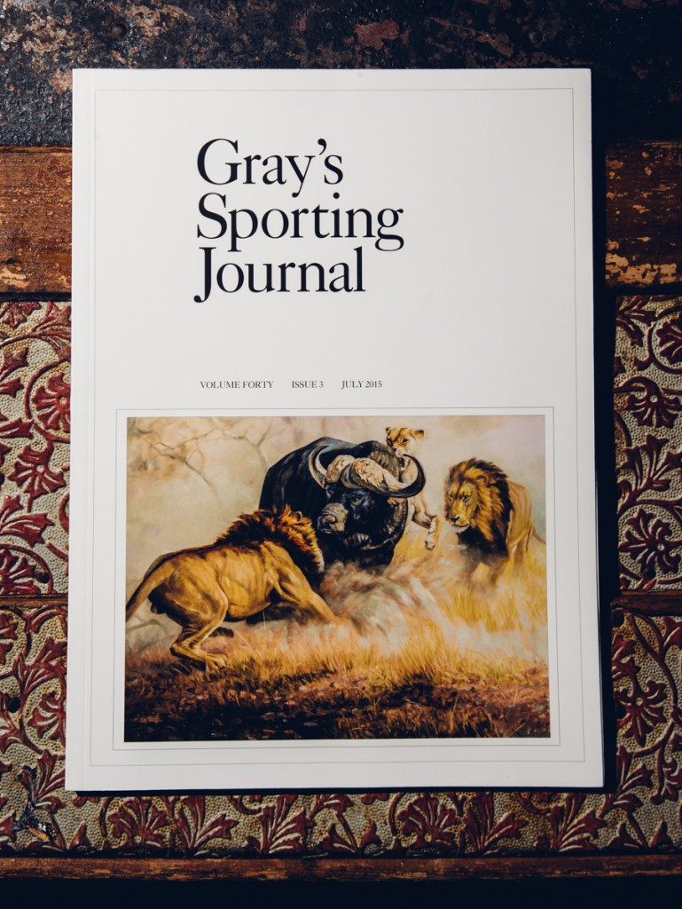 Gray's Sporting Journal - Lion Attack Cover