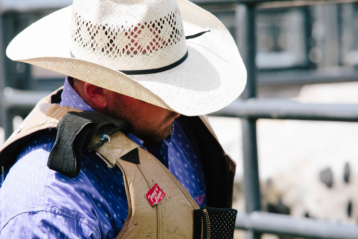 Bull Rider Western Shirt and Vest-2851