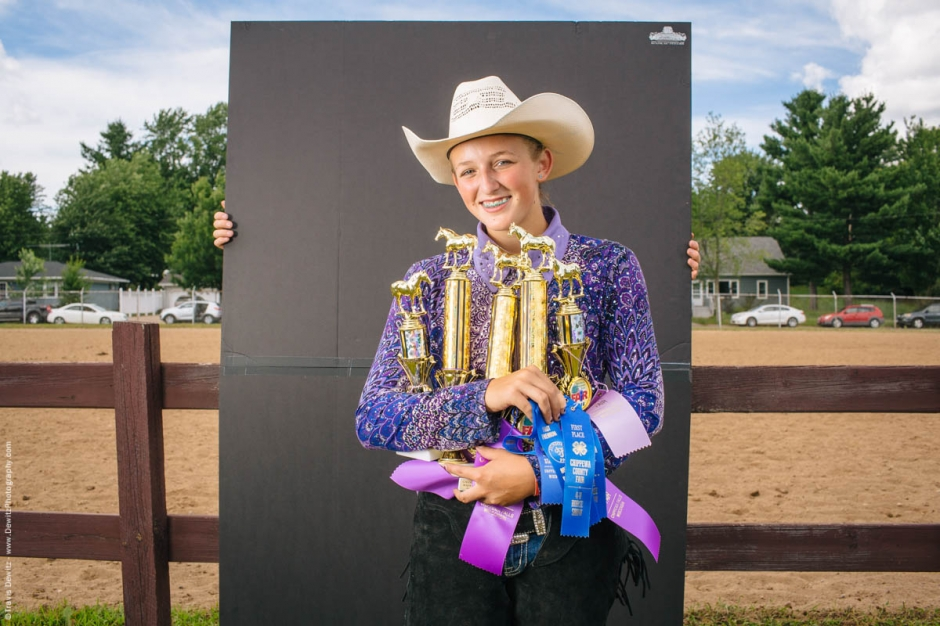 young-teen-stole-the-show-arms-full-of-horse-competition-ribbons-trophies-cowboy-hat-northern-wisconsin-state-fair-2200