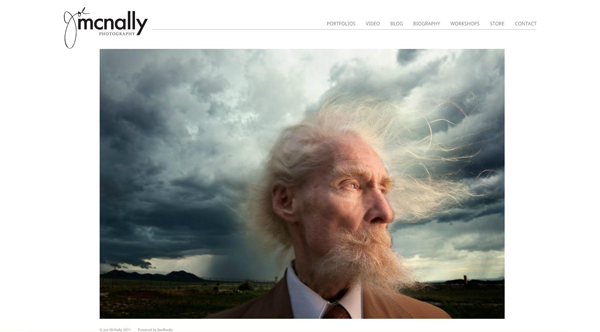 Joe McNally Portrait Photography Website