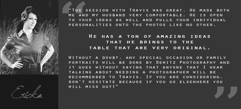 Client Testimonial Quote Ericka Gray