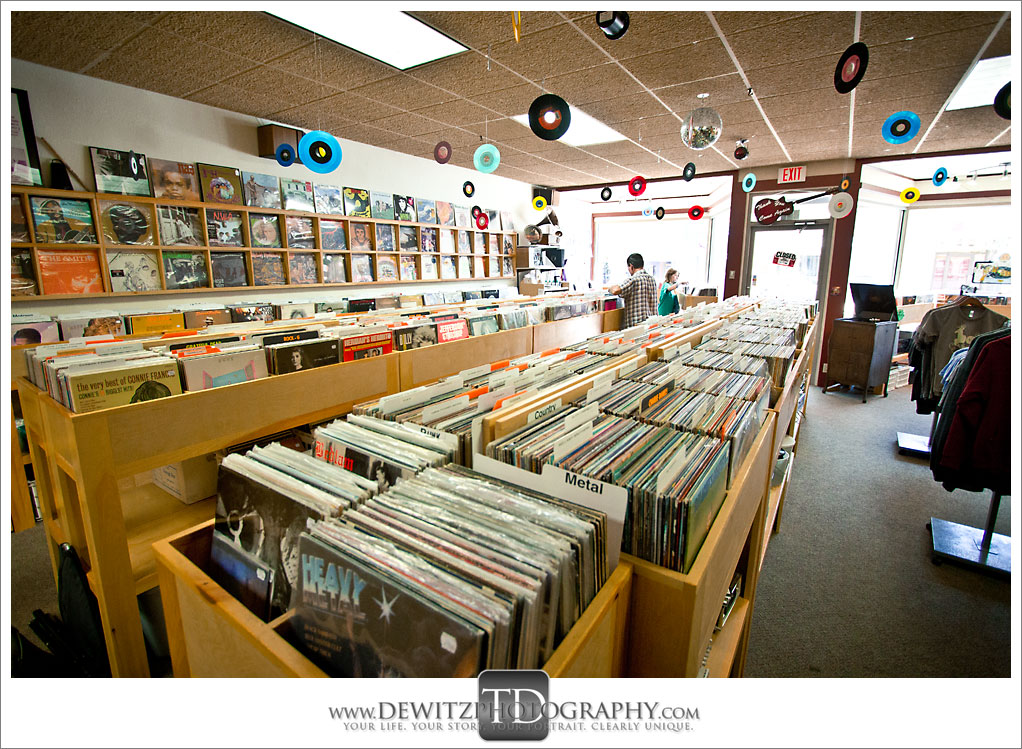 Revival Records Downtown Eau Claire Wis
