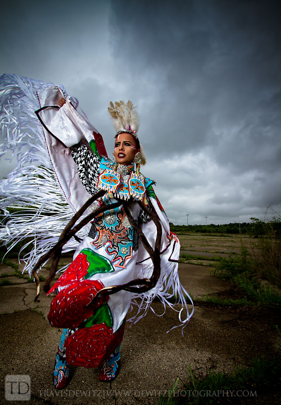 Native American Project - Skye Hall Dancing Under Stormy Skies