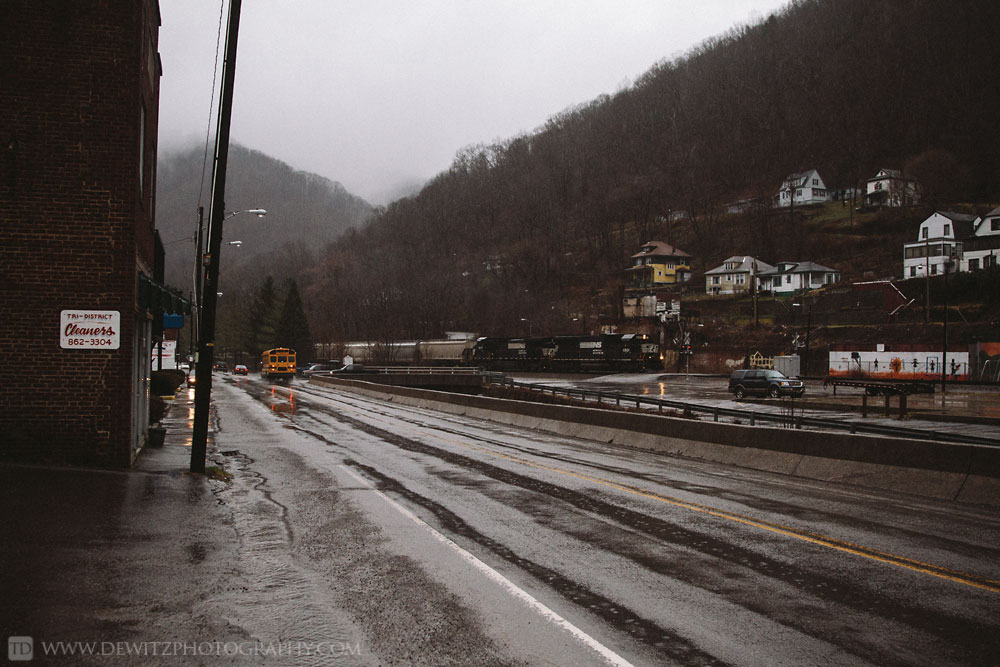Railroad Photography Through West Virginia And Mcdowell County