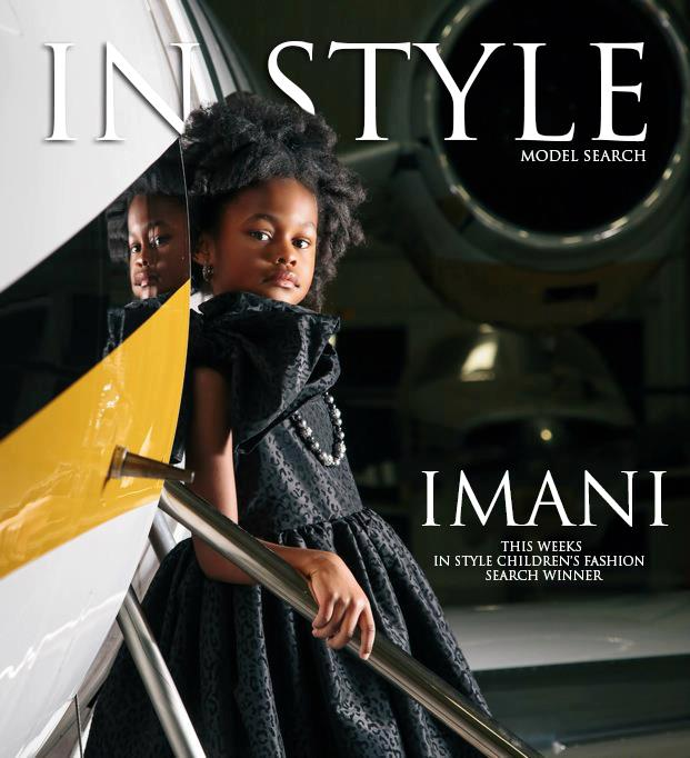 Imanin Child Model Magazine In Style Contest Winner