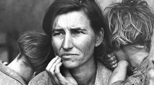 Dorothea Lange Portrait Photographer