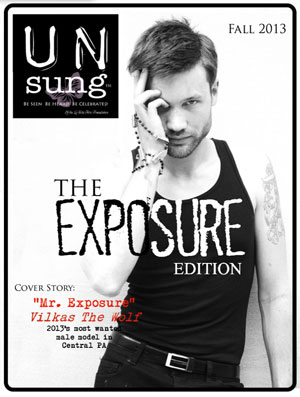 Un-sung Fall 2013 The Exposure Edition Magazine Cover