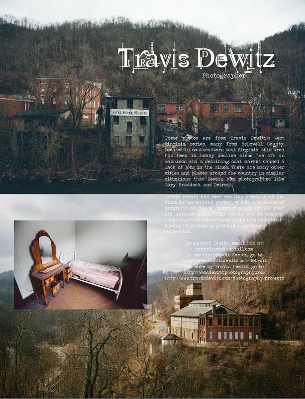 Un-sung Travis Dewitz West Virginia Photography Piece